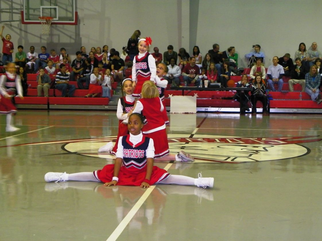 Calvary Christian Academy & Preschool Photo #1 - Pep Squad