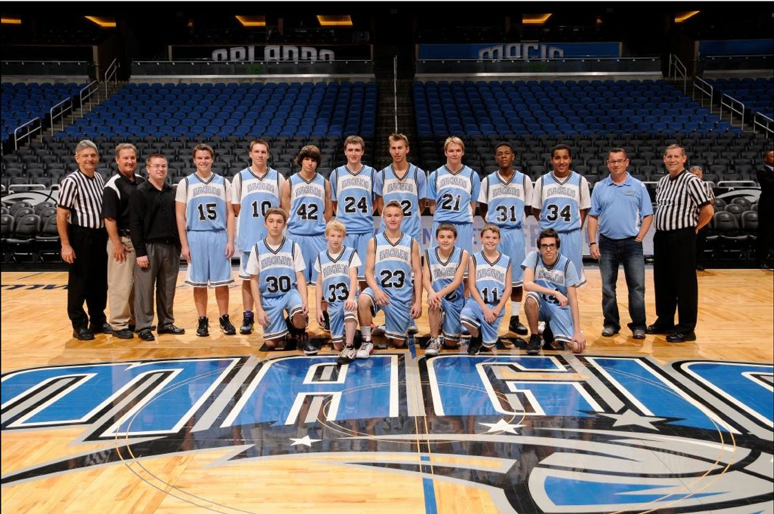 Elfers Christian School Photo - Elfers Eagles 2015 at the Orlando Magic during our high school Court of Dreams Event.