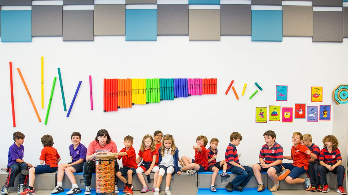 Miami Country Day School Photo - Miami Country Day is alive with creativity and color!
