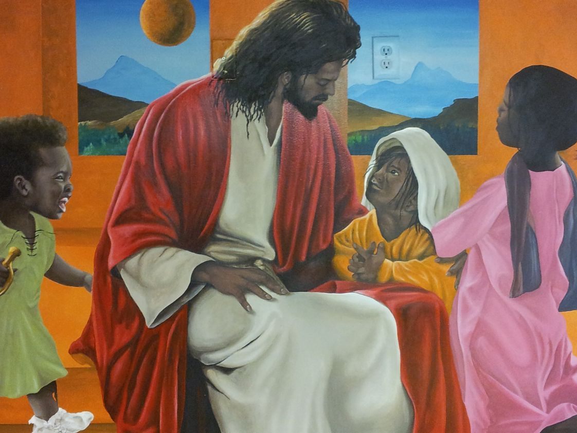 Mount Bethel Christian Academy Photo #1 - Mural in K3 Classroom
