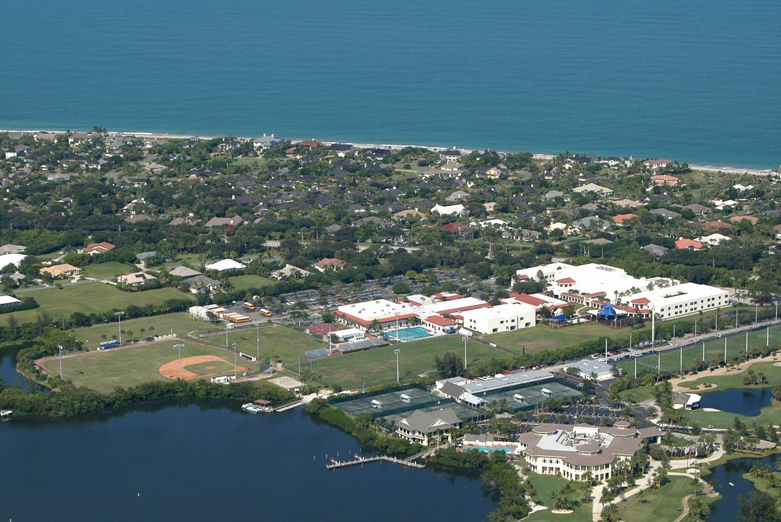 Saint Edward's School Photo - Our campus is nestled between the Atlantic Ocean and the Indian River Lagoon in Vero Beach, Florida.