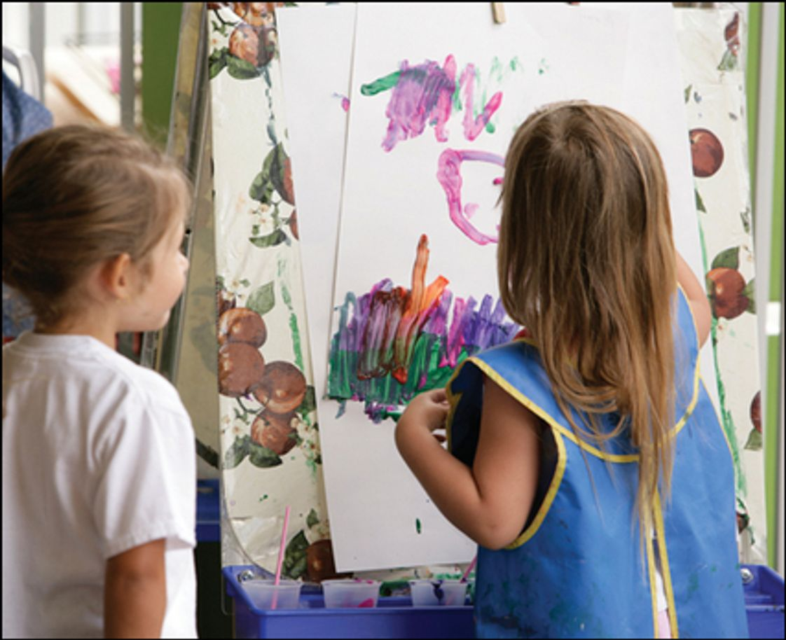 Cambridge School Photo #1 - Students Enjoy Painting