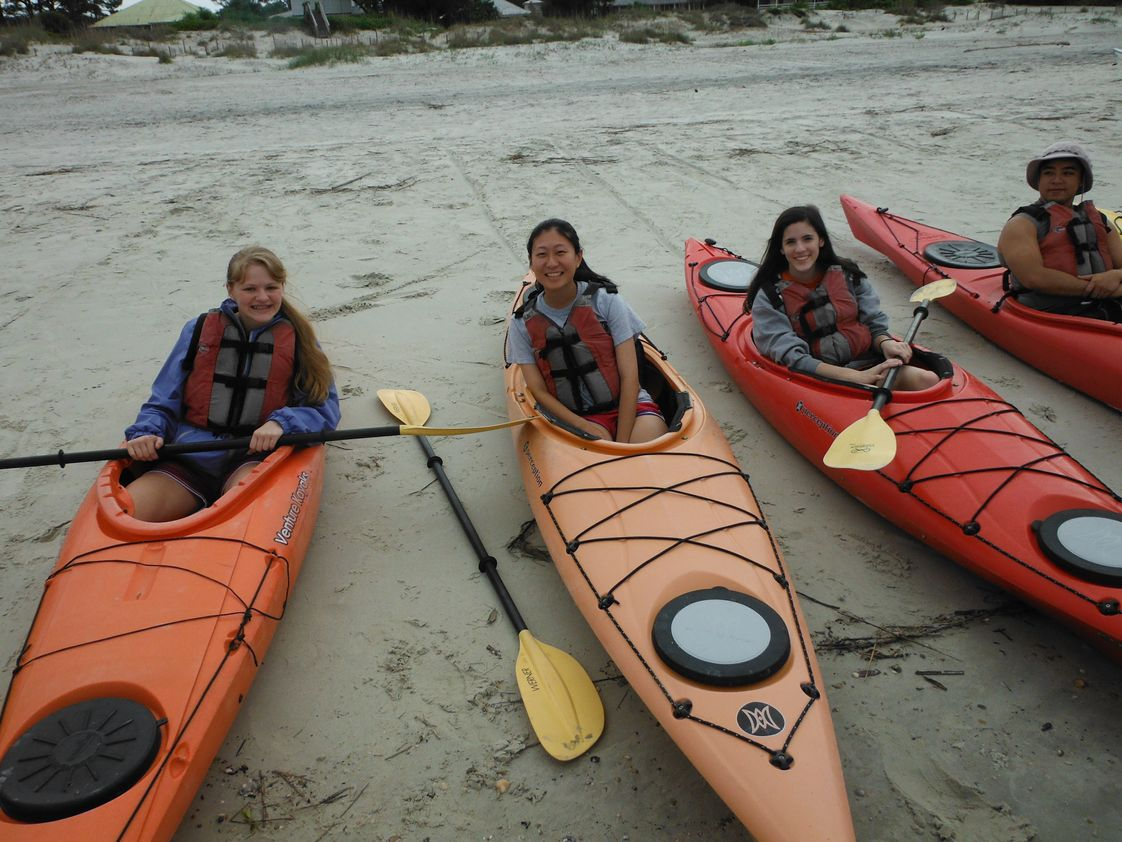 Dominion Christian School Photo - Outdoor Program. Dominion offers an extracurricular program that explores the outdoors for both middle school and high school. Activities include backpacking, river kayaking, sea kayaking, caving, whitewater rafting, and zip-lining. For more information, go to www.rangersoutdoors.com