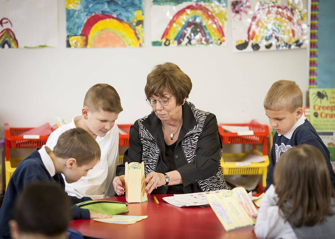St. Constance School Photo - Small class sizes mean our teachers always have time for one-on-one instruction.