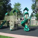 Early Childhood Center's outdoor playground.