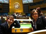 Upper Elementary annually participates in the Montessori Model United Nations event in New York City