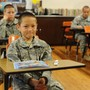 Lyman Ward Military Academy Photo - 6th Grade, Cadet Bracey from Texas in Mrs Arwoods Class.