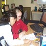 South Bay Christian Academy Photo #3 - Teacher and student working one on one in the Elementary classroom