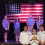 Wickenburg Christian Academy Photo #4 - Annual Veterans Day Chapel: 7th & 8th Graders conduct a flag folding ceremony, explaining significance of each of the 13 folds. Students are encouraged to bring a family member, friend or neighbor to honor for their service.