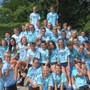Nativity Catholic School Photo #4 - 8th grade students bond during a retreat at the beginning of the school year