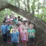 The Children's House Photo #4 - At Trader's Point Creamery, during a walk in the woods.