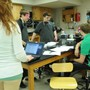 Walther Christian Academy Photo #1 - Science class in the Science & Technology Wing