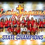 Pope John Paul II Catholic High School Photo - Three consecutive state volleyball titles!