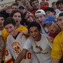 Calvert Hall College High School Photo - Calvert Hall students love to support their peers and cheer on teams, like at volleyball matches pictured here.