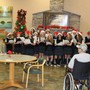 St. Mary's School Photo #5 - National Junior Honor Society singing Christmas Carols to the Charlotte Hall Veteran's Home