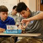 Nouvel Catholic Central High School Photo #8 - Students work together in the Science classrooms