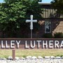 Valley Lutheran High School Photo - The brass cross, designed and made by a student, is visible from the road. The cross represents our commitment to making Christ the foundation of our ministry as we educate minds, nurture faith and cultivate leaders.