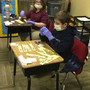 "Cross Creek Christian Academy Photo #8 - 3rd grade performing ""surgery"" to create contractions during Language Arts"
