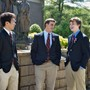 Don Bosco Prep H.S. Photo - Don Bosco Prep students gather on Founders' Square, which is centrally located on the school's 35- acre campus.