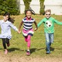 The Red Oaks School Photo #10 - There's nothing like running during recess. Here are some Lower Elementary students having fun!