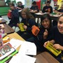 Emanuel Lutheran School Photo #7 - Fifth grade learning to weave!