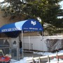 North Side School Photo #2 - This is the awning at the front entrance.