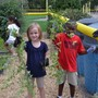 Fayetteville Academy Photo #7 - The Fayetteville Academy Lower School Science Class help weed the school garden.
