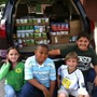 The Piedmont School Photo - The Piedmont School's Student Council collects canned foods for the Open Door Ministries in High Point
