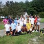 Rocky Mount Academy Photo #3 - RMA students are required to give back to the community during their high school years. These students cleaned up yards in the vicinity of RMA after Hurricane Irene.