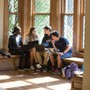 Hawken School Photo #4 - Upper School students at the Gries Center