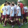Champion Christian School Photo - Soccer team huddle