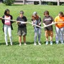 The Crefeld School Photo #4 - A team building project with one Advisory group in Crefeld's field.