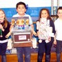 Our Lady Of Mount Carmel Photo #7 - Students proudly share their STREAM robot projects.