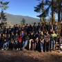 Cascade Christian Academy Photo - CCA high school students on Make A Difference Day, cleaning up at Camp Zanika.
