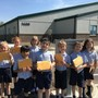 St. John Neumann Academy Photo #2 - Mailing their Flat Stanley Projects!