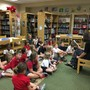Genoa Christian Academy Photo #10 - Elementary students love library time!