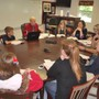 Covenant Academy Photo #5 - Harkness table discussion in the Eighth Grade classroom.