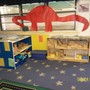 Dixon KinderCare Photo - Pre K classroom dinosaur topic block area