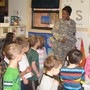 Vienna KinderCare Photo #6 - A local veteran visits or KinderCare students.