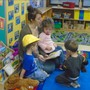 Overland Park KinderCare Photo - Toddler Classroom - story time with the toddlers