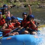 Pacific Lutheran Jr. / Sr. High School Photo - Pacific Lutheran Jr./Sr. High School's year-end teambuilding trip on the rapids!