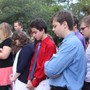 Odessa Christian School Photo #2 - Morning prayer at the flagpole
