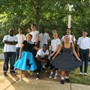 Brookwood Christian Language School Photo #7 - Students dressed up for 50's day while studying the 50's in US History.