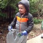 Sonnenberg School Photo - Earth Day garbage clean up
