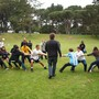 Woodside International School Photo #3 - A friendly game of Tug-of-War at Woodside's Annual Sports Day.