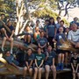 Zion Lutheran School Photo #2 - Zion Cross Country team taking in the views after tackling Strawberry Hill in Golden Gate Park!