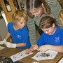 Zion Christian School and Learning Center Photo #4 - Dissecting owl pellets.