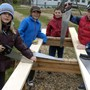 Boulder Valley Waldorf School Photo #3 - Students engage in a building project in 3rd grade; part of their house-building, agriculture and textiles blocks.