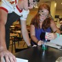 Orangewood Christian School Photo #8 - Orangewood HS students experiment during Chemistry