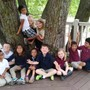 Learning Tree Elementary School Photo - Learning Tree students study God's Word and His Works of Nature!